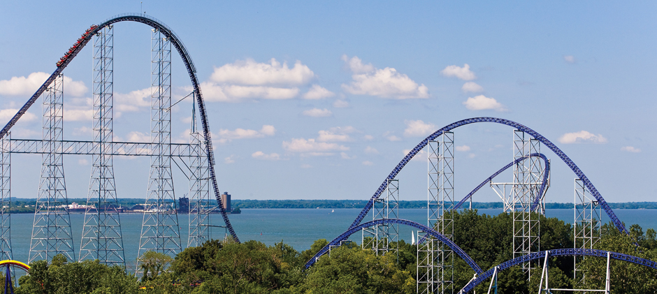 Roller Coaster: internet marketing company site transition analogy